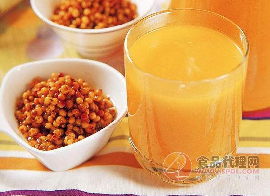 沙棘汁的营养价值,喝沙棘汁时需要注意什么