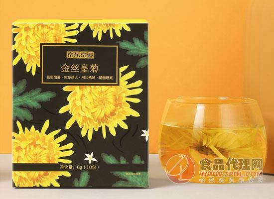 京東京造金絲皇菊怎么樣,朵朵飽滿味道純正