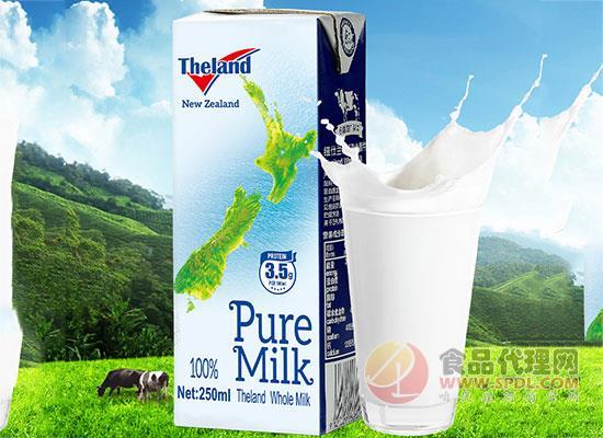 纽仕兰蛋白质全脂纯牛奶价格,全脂的更健康