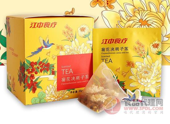 江中食疗菊花决明子茶怎么样,开启清润生活