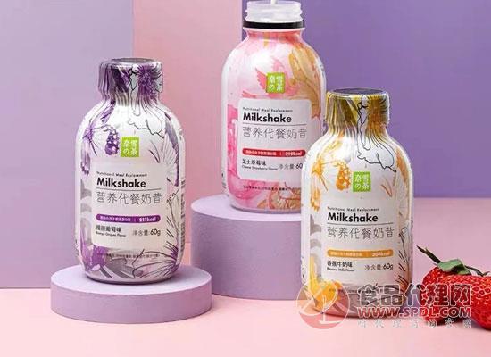 奈雪的茶涉獵快消品,推出新款代餐奶昔