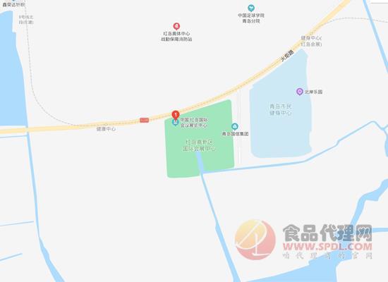 2021青島國際葡萄酒及烈酒博覽會交通路線