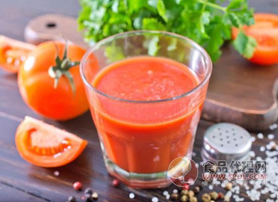 番茄汁怎么做,适量饮用番茄汁有什么好处