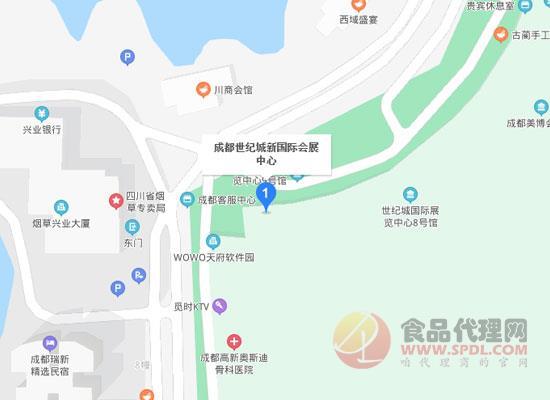 2021成都國際跨境電商交易博覽會交通路線