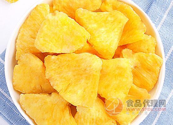 百草味菠萝干多少钱,热风烘干的优质菠萝干