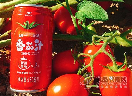 统一番茄汁多少钱,味道酸甜口感顺滑的果蔬汁