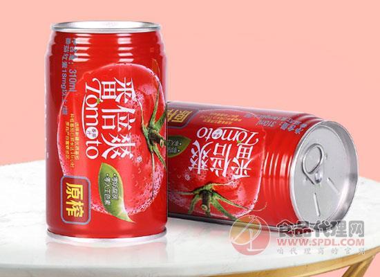 冠农番倍爽番茄汁,美味优质双在线的健康饮品