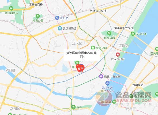 2021第十三屆中部武漢糖酒食品交易會交通路線