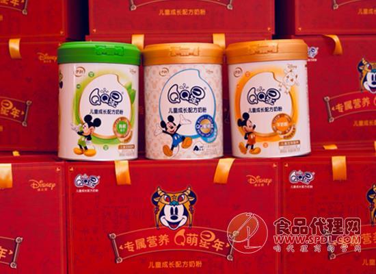 伊利QQ星儿童奶粉家族全面升级,并推出三款新品