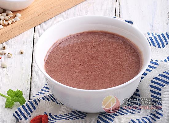百草味红豆薏仁粉怎么样,采用低温烘焙工艺