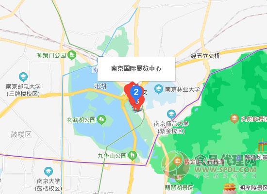 2021第10屆中國(南京)國際糖酒食品交易會交通路線