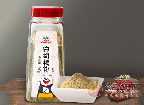 吉得利白胡椒粉價格,細節體現優質品質