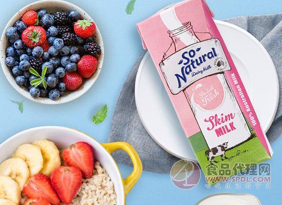 澳伯顿脱脂纯牛奶多少钱,牧场新鲜直供