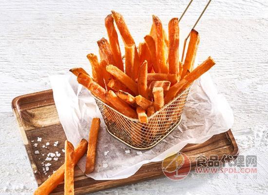 安格瑞甜脆紅薯條多少錢,口感外酥里嫩