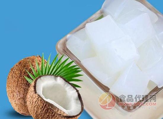 椰果罐头是明胶做的吗,椰果罐头的热量是多少