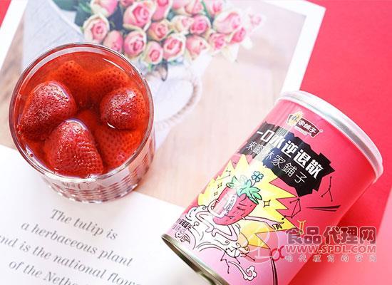 林家铺子草莓罐头多少钱,值得选购吗