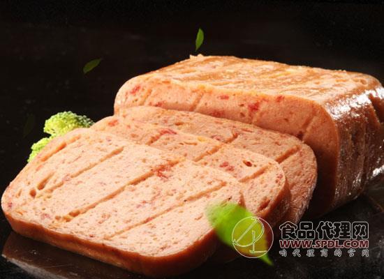 林家铺子午餐肉罐头多少钱,真实瘦肉看得见