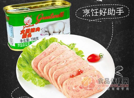 长城午餐肉罐头价格,用心制作好罐头