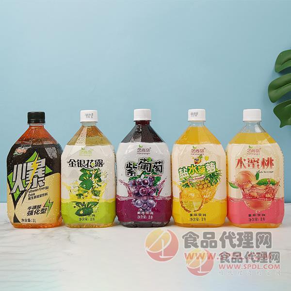 念尚你果味饮料,2021你不能错过的一款赚钱爆品。