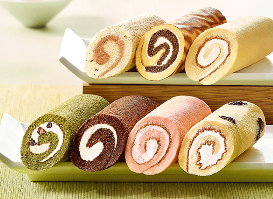 元祖蛋糕卷多少钱,7种不同口味