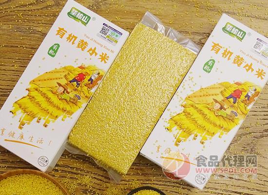 望粮山有机黄小米多少钱,遵循自然生态种植