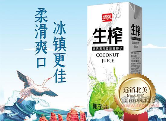 盼盼生榨椰子汁價格,入口柔滑清潤爽口