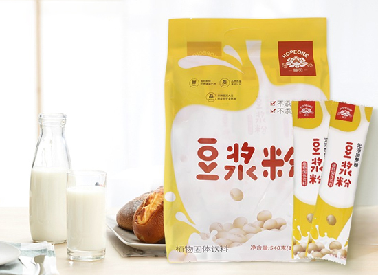 慧员豆浆粉价格是多少,亲水速溶不结块