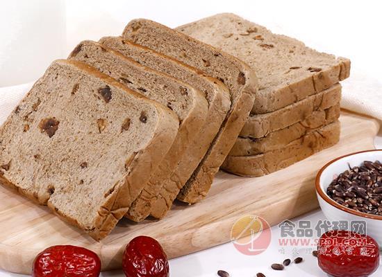 舌里红枣黑麦面包多少钱,温润香甜又绵密