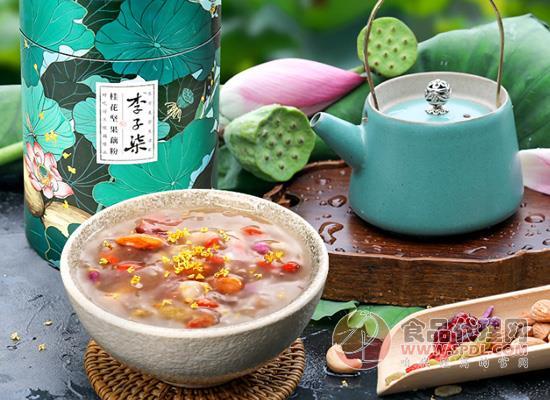 李子柒桂花坚果藕粉多少钱,轻食代餐不单调