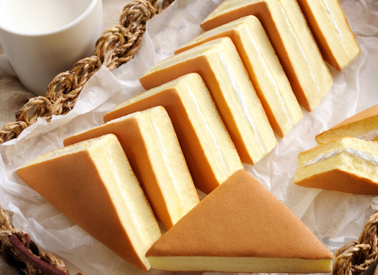 巴比熊韩式三明治蛋糕多少钱,入口如云团般松软