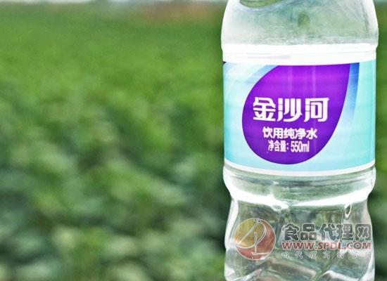 金沙河再次入局纯净水市场,5升装纯净水震撼上市