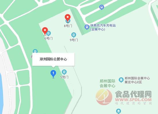 2021鄭州市國際糖酒會交通路線