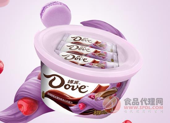 徳芙朗姆樱桃冰淇淋味巧克力多少钱,高颜值清新设计