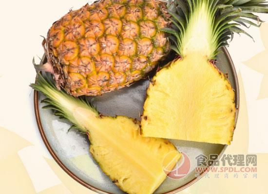 海南金鉆鳳梨價格,正是吃菠蘿的好時候