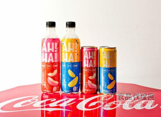 AH!HA!氣泡水白桃烏龍,可口可樂與時代接軌