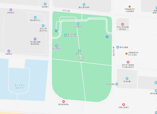 2021第19屆漯河食品博覽會交通路線