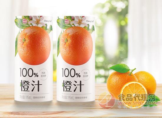 橙寶巴西圣保羅橙汁多少錢,一罐約榨取2.5個鮮橙