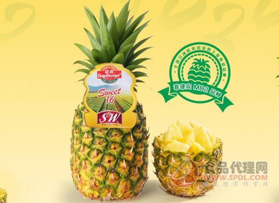 佳農菲律賓菠蘿價格,酸甜好吃根本停不下來