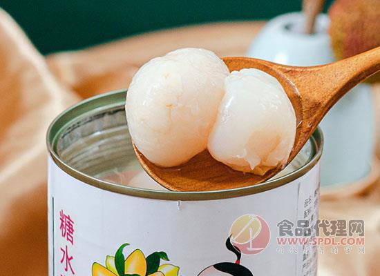 广禧糖水荔枝罐头价格,真实荔枝看得见