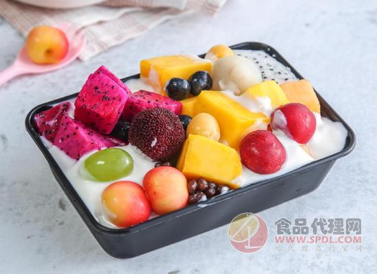 自制酸奶水果捞能放多久,根据存放环境而定