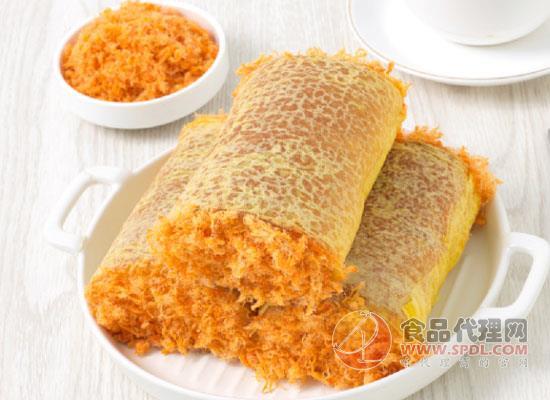 玛呖德蛋皮肉松香葱卷面包,懒人必备的面包
