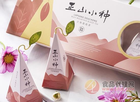 茶怡口正山小種好喝嗎,采用創意立體茶包