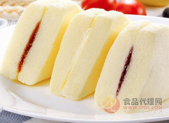 休闲农场三明治蒸蛋糕,新鲜美味品质有保障