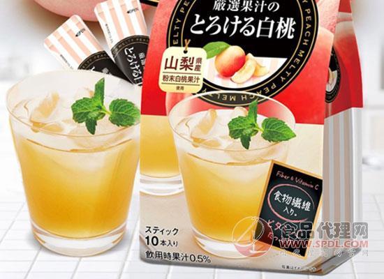 日东红茶白桃水蜜桃味,简单一杯享受生活