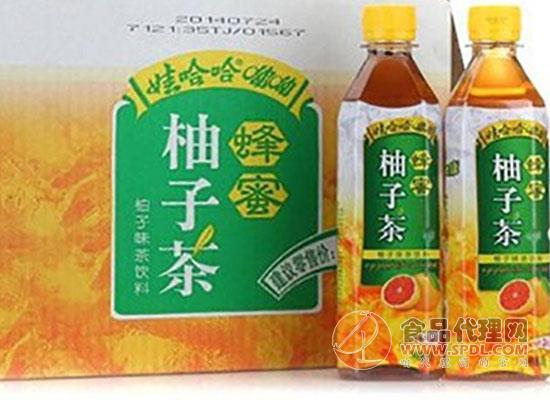 娃哈哈蜂蜜柚子茶多少錢,滿滿都是西柚味