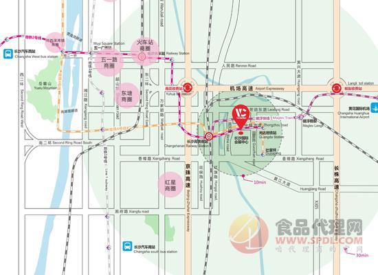 2021中國國際食品餐飲博覽會交通路線