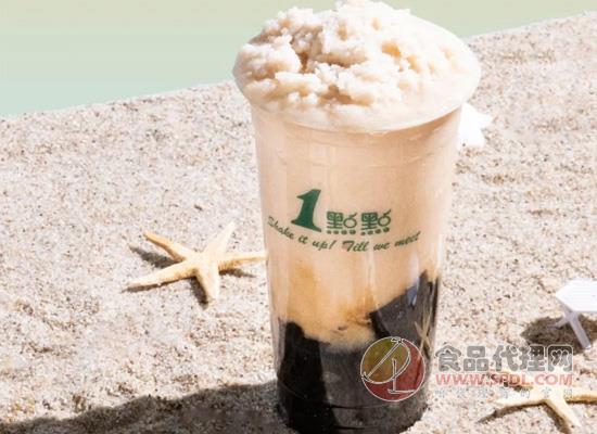 1點點推出新品冰沙,多年來的初次嘗試