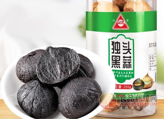 川珍独头黑蒜价格,足期发酵成熟