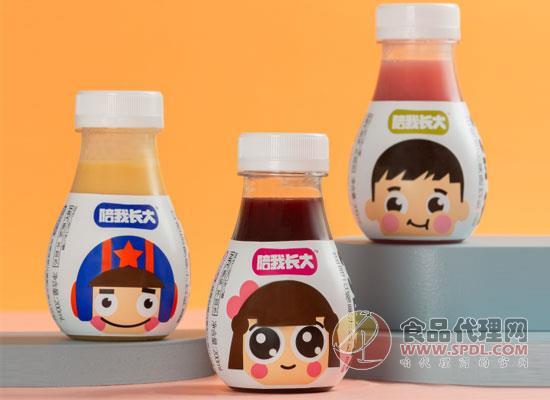 """零度果汁推出""""陪我長大""""兒童果汁系列,開拓兒童果汁賽道"""