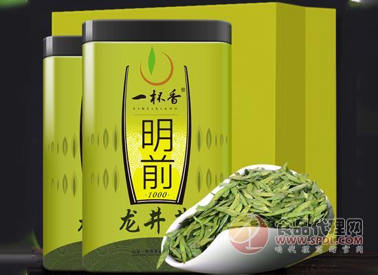 一杯香明前龍井茶價格,濃濃板栗香,鮮活爽口